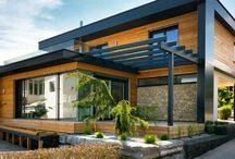 Flat-Pack Homes from: K-Haus Ltd / Quality modern German prefabricated homes manufactured for the UK market.