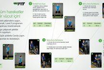 MacFit Egzersizler GYM Fitness / MacFit spor salonlarında yapabileceğimiz egzersizler.