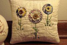 Quilt pillows / by Lizabeth Larson