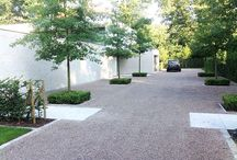 Contemporary Driveways