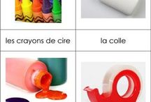 French Language Learners in Art Class