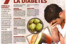 De abetes remedio y alimentacion