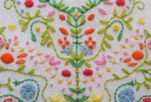 Pretty / folk art, pattern, embroidery, textiles.....beautiful things made by people