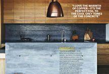 Concrete in the home...