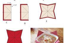 cestas de tecido