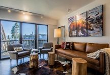 Tahoe Keys Marina Modern / This 3 bed/3.5 bath townhouse with 3 levels is nestled in the marina of the Tahoe Keys. Take in the views from the private back deck, enjoy the artfully decorated interior, or head out on the water from the 2 boat docks available through this rental.