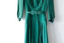 40s fashion / Dress styles I like