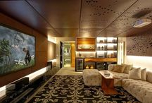 Salon sag sol icin ortadaki kutuphane ve tasariM