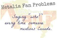 Hetalia fan problems
