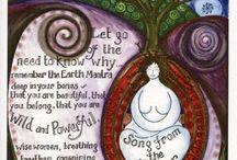 Maiden, Mother, Crone / Divine feminine
