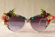 SUNGLASSES / Colour and fun sunglasses to add a splash of quirky style to your look.