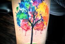 Water Colour tattoo ideas / Potential water colour tattoos