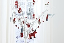 Red, Traditional Christmas Decoration