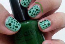 Becoming Sleek Nails / My own nail art or nail polish swatches. Found originally on http://becomingsleek.wordpress.com