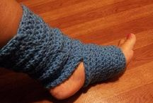 crochet socks & slippers