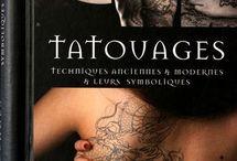 livres sur le tatouage / idee cadeau noel sur le thème du tatouage