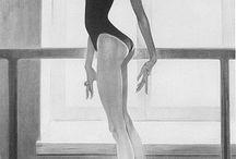 African American/ Black Ballerina Art Print Collection