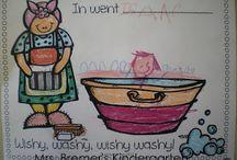 First grade literature & activities