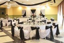 Fekete - fehér esküvők