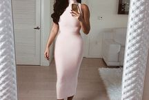 The Hottest Party Evening Dresses / Stunning girls looking Fab in their Bandage dresses