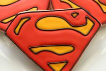 Superhero Baby Nursery / Your favorite superhero in the baby's nursery
