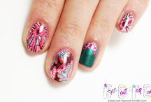 SCIENCE NAILS / Microbiology, anatomy, and the like! (check out the Animal / Animal print + Floral + Gemstone nails and Scenery nail boards for more nature inspired nail art!!) / by BASECOATTOPCOAT
