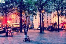 Beautiful views of Paris