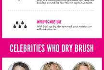 dry brushing  your  body
