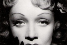 Marlene, Monroe, Hepburn, Bardot.