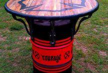44 Gallon Drum Ideas