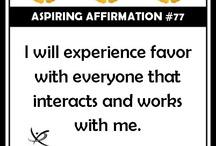 Aspiring Affirmations
