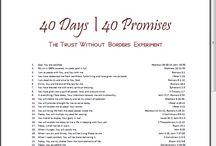 40 Days/40 Promises