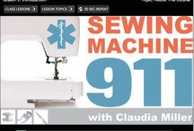 Sewing Machine Maintenance / Tips and ideas for maintaining your sewing machine