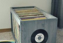 Vinyl diy storage