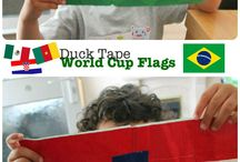 World Cup Crafts for Kids / Create fun crafts to cheer on your favorite team!