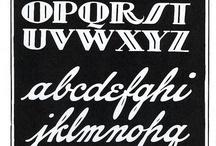 Lettering, Fonts, Design