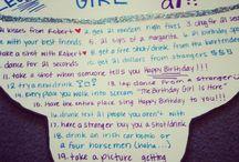 21st birthday / by Aliah Swift