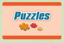 """Puzzles Educativos /  Com a linha de """"Puzzles"""", pretendemos aprofundar conhecimentos de diversas áreas científicas, como a Biologia, a Astronomia, a Paleontologia ou a Geografia. Fomentar estes conhecimentos através da construção de puzzles, permite à criança aprender de uma forma simples conceitos imprescindíveis para a sua formação."""