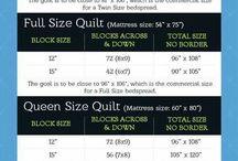 Quilt measurements