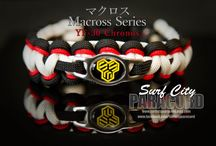 Macross / Robotech Paracord / Bracelets by Surf City Paracord modeled after Valkyries from Macross / by Surf City Paracord