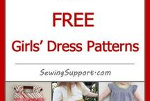girls' dress patterns