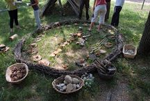sustainable outdoor play\learning ideas