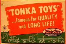 Tonka Toys / by Rebecca Guyton