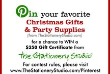 The Stationery Studio Christmas Contest / by Meredith Jones