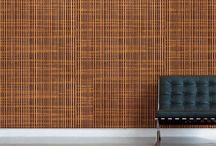 Great wall Decor with PLYBOO LINEAR LINE Bamboo Panels / Made entirely of carved Plyboo bamboo panels, the vertically fluted face layer reveals a uniquely graphic inner core. These intersecting surfaces harmoniously suggests the natural, tactile quality of a woven  textile that is both curious and compelling. The Linear Line collection is available in 6 architecturally inspired styles each utilizing RealCore™ Technology in varied compositions.