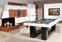 Stoły bilardowe / Zapraszam do obejrzenia profesjonalnych stołów bilardowych firmy Lissy. Każdy nasz stół można z łatwością zamienić na stół jadalniany dzięki blatom nakrywającym.