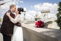 Eszti and Robi - Budapest Wedding / http://azenruham.hu/menyasszonyi-ruha/eszti-es-robi-eskuvoje-szel-ruhaja
