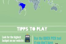 Winning the lottery / Tipps for playing the lottery succesfully. Quotes and Infographics. Enjoy and good luck!