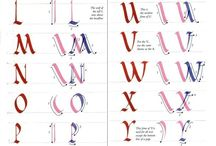 TUTORIAL FONT WITH PARALLEL PEN