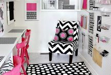 Craft Rooms  / Girl'Cave / by Lisa Lanford